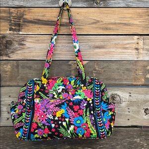 Vera Bradley Make A Change Baby Bag Field Flowers
